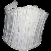 Vintage Cotton Corset