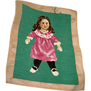 Bisque Girl Needlepoint