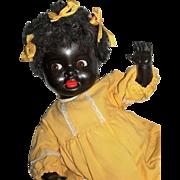 "19"" KW #221 Black Googly eyed Toddler...Adorable!"