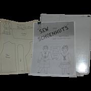 Binder on Schoenhut dolls ; sewing patterns