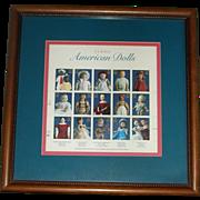 Framed Doll Stamps
