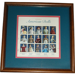 Framed Doll Stamps