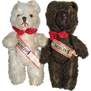 "8"" Twin Vintage Berlin Bears"