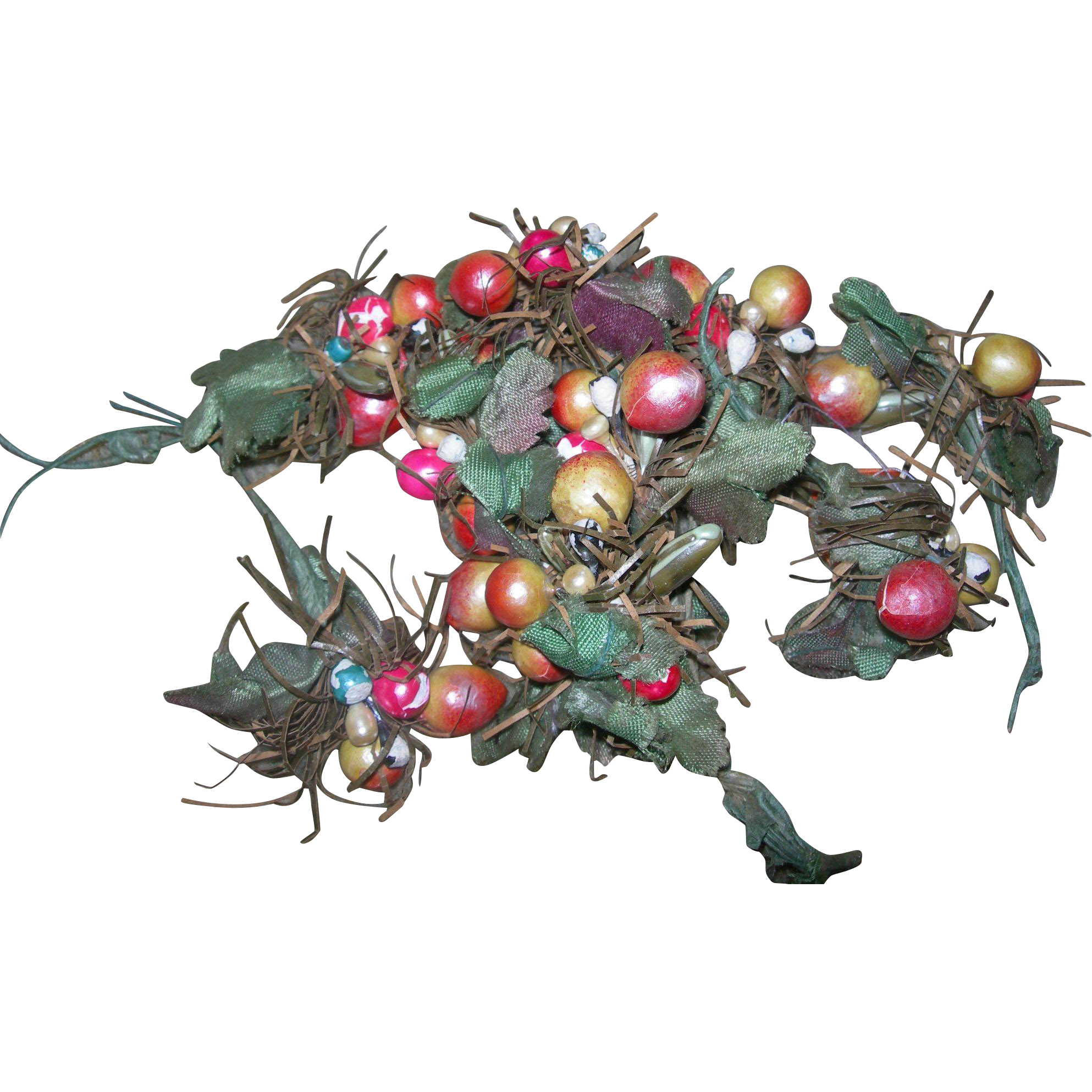 Vintage Christmas Floral Ball Sprays