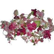 Vintage Pinks Flowers for Doll Hats