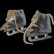 Vintage silver Terri Lee skates