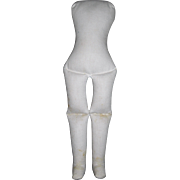 "13 1/2"" Muslin body good for China, parian shoulder plate dolls"