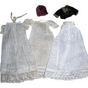 Vintage Cotton/gauze Baby Clothing for Tiny All bisque Doll