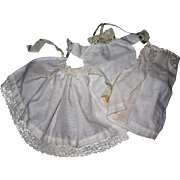Vintage Tiny Baby Clothing for All bisque Dolls #2