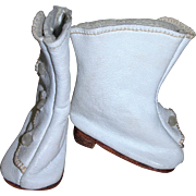 Handmade Leather Lady Boots, adorable and so nice!