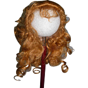"""Gorgeous 10-11"""" Irene Wig Mohair Pale red/brown"""