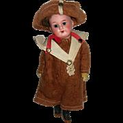 "6"" AM #300 Bisque/compo doll Original Clothing Scout"