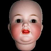 #126 K*R Simon-Halbig Baby Head Wobble tongue