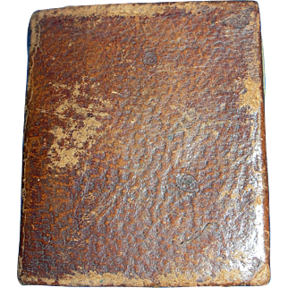 Small Leather Bound Bible 4 french Fashion Dolls
