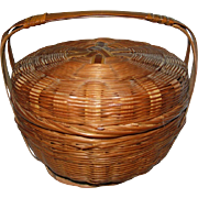 Small  Embroidery Basket