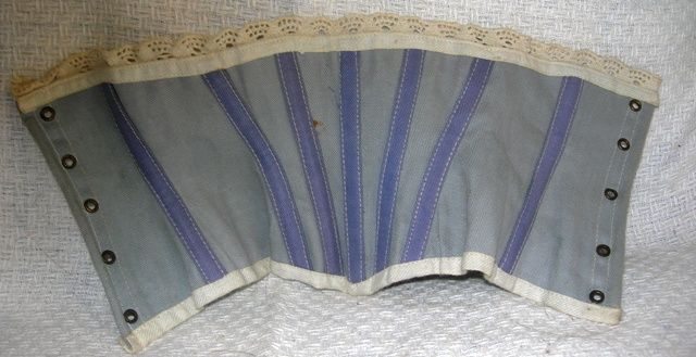 Hold Vintage Blue Corset for China or Parian doll