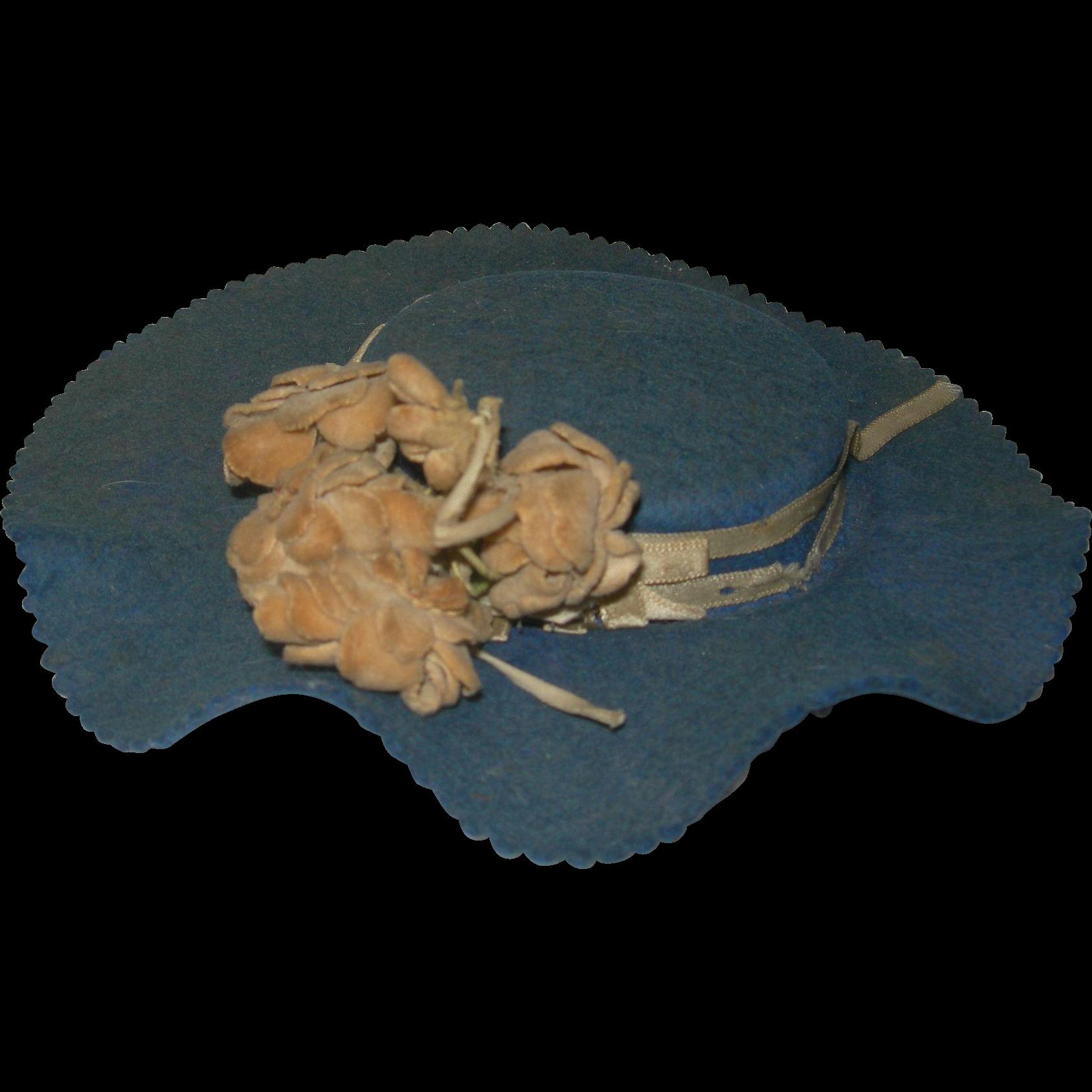 Vintage Felt Hat 33