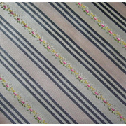 """Repro Silk Taffeta 1yd by 54"""" embroidered Material"""
