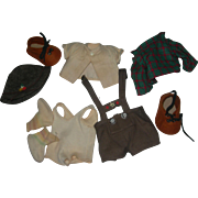 Hummel Outfit Ethnic German Outfit for Toddler doll