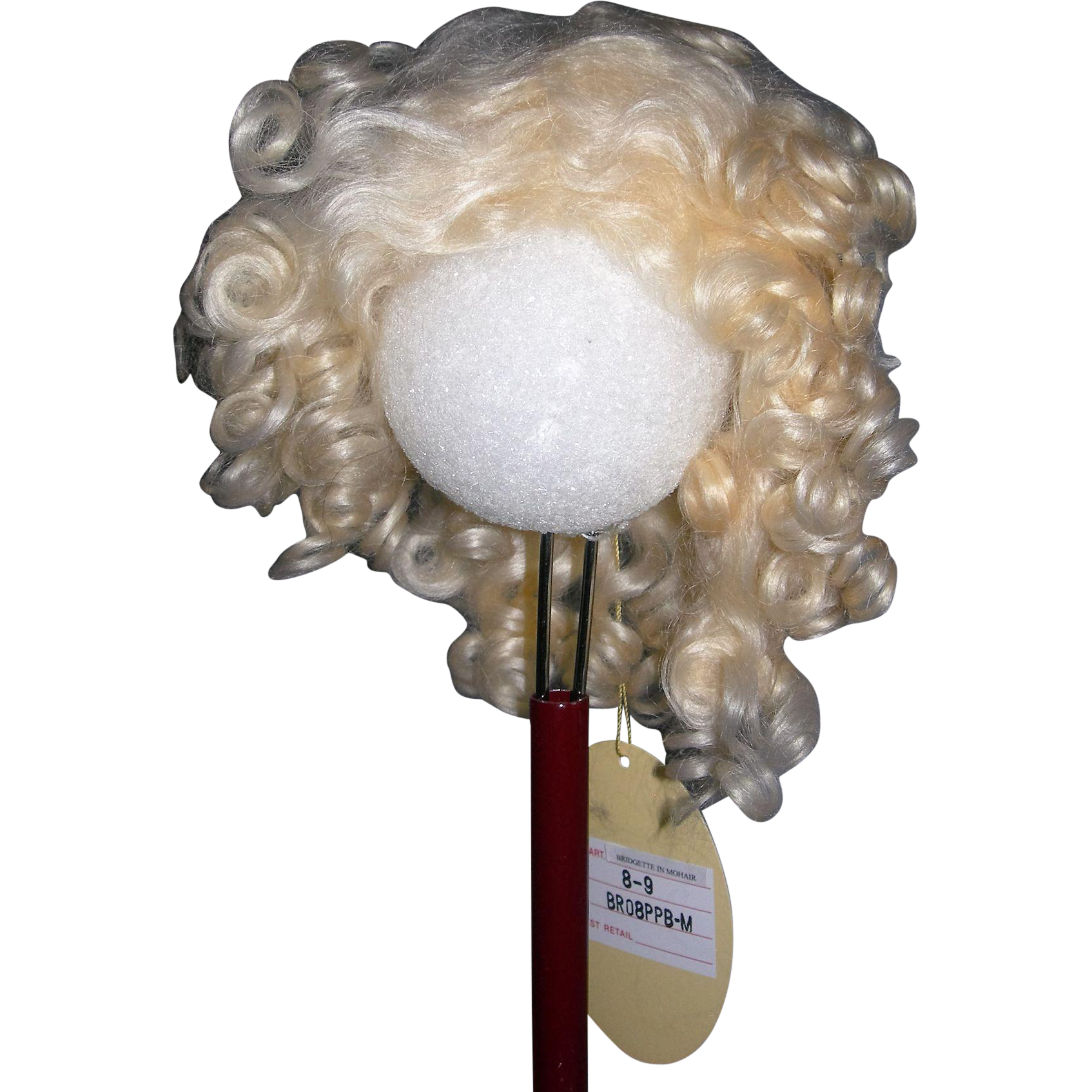 Bjd Wig Curly Mohair 32
