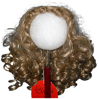 """8-9"""" Honey Blond Synthetic wig Loads of curls."""
