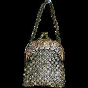 Antique metal purse for Bisque Dolls
