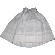 Amazing Antique Petticoat hand sewn Tucks!
