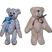 Two Tiny Bears for dolls.