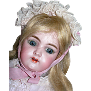 "16 1/2"" #109 Handwerck Pretty Bisque Doll"