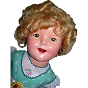 """18"""" Shirley Temple doll"""