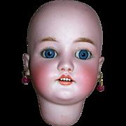 "13"" HC Pretty CM Bergmann Simon-Halbig Bisque Head"