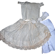 Vintage Cotton Undies 4 Bisque Dolls