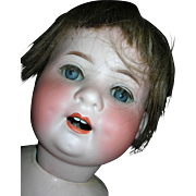 "21"" #300 Heubach Koppelsdorf Baby Sweet Face...Large enough for displaying Family Christening Clothing"