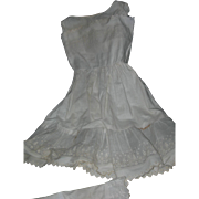 Beautiful Vintage Petticoat and Bloomers for Large doll