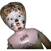 "Minerva Metal Head needing some TLC 20 1/2"" tall"