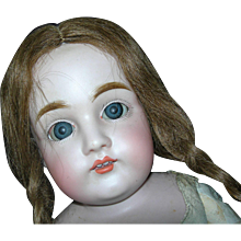 "Inventory Sale!!! 23"" Tall Cute as a button #154 JD Kestner in Braids Fresh out of the Mold!"