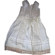 Petticoat and Bloomer combination For Bisque dolls