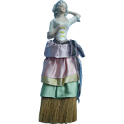 9 inch German Half Doll on Broom