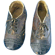 Antique 4.5 inch Shoes