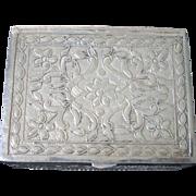 Miniature Silver Letterbox