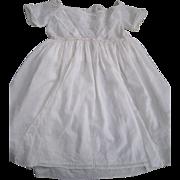 22 inch Batiste Gown/Drawstring Neckline