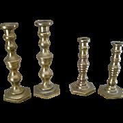 Miniature  Brass Candelsticks