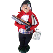 Byers Choice Caroler with Clarinet