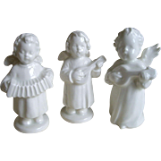 3 German 3 Inch Musician Angels