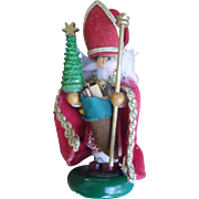 Six Inch Miniature German Steinbach Nutcracker