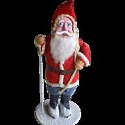 5.75 Inch Clay Face Christmas Santa