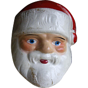 Vintage Santa Composition Wine Cork Cover