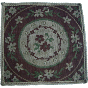 6.25 Inch Square Miniature rug