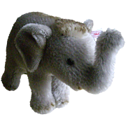 Mohair Steiff Baby Asian Elephant