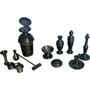 Assorted Brass Miniature Pieces